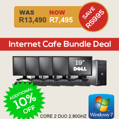 Dell Optiplex 360 internet cafe bundle