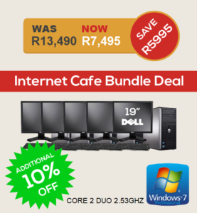 Dell Optiplex 755 Internet Cafe Bundle